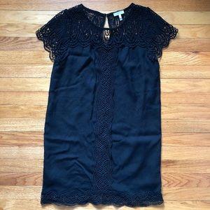Joie black tunic dress